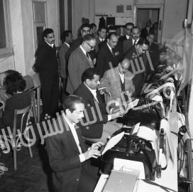صالة التحرير قديما