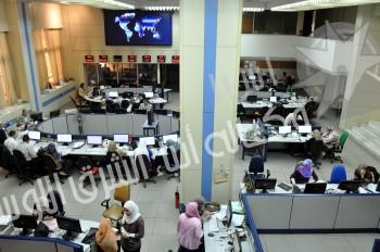 New editing hall